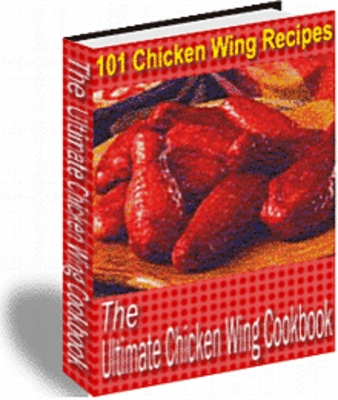 Product picture The Ultimate Chicken Wing Cookbook !