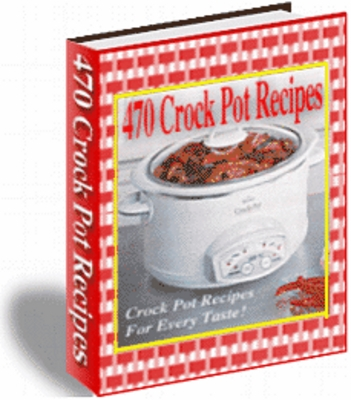 Product picture 470 Crockpot Recipes !