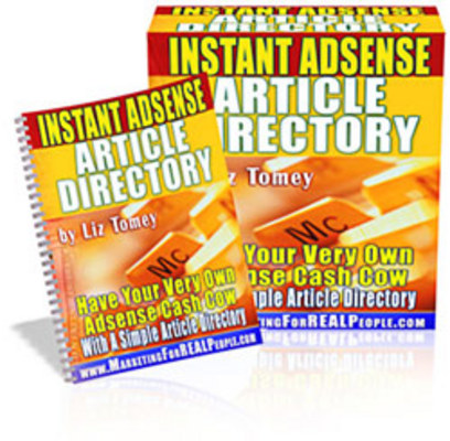 Product picture Instant Adsense Article Directory !
