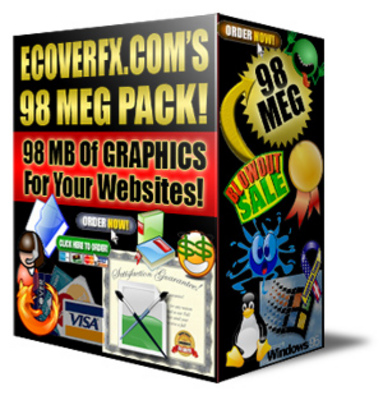 Product picture 98 Megs Graphics Pack From ECoversFX !