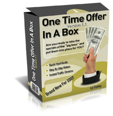 Product picture One Time Offer In A Box !