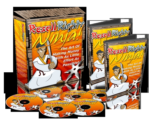 Product picture Resell Rights Ninja - The Art Of Effortless Money !