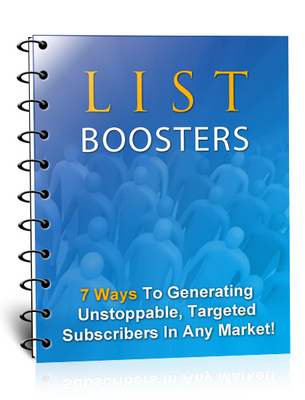 Product picture List Boosters !